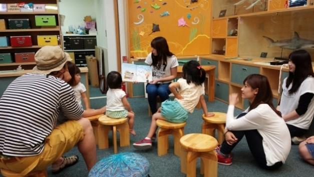 AP活動の一環として絵本の読み語り活動を行いました