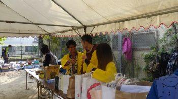 AP事業の一環として相浦公民館祭りに参加しました