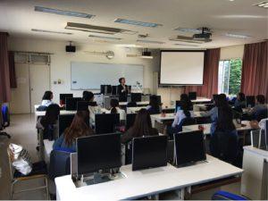 AP事業の一環として、「ビジネス英語」の講演会を開催しました